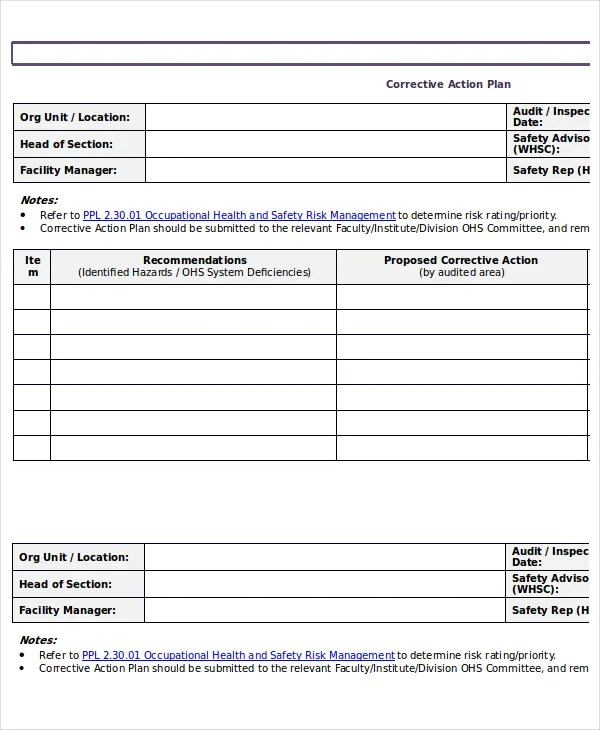 Action Plan Templates - 9+ Free Word, PDF Documents Download Free - action plan templates