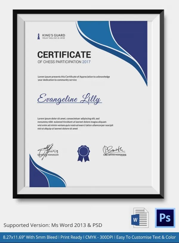 Award Certificates Templates Word - mandegarinfo - award templates word