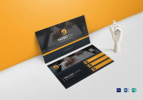 33+ Free Business Card Templates - InDesign, AI, PSD, Word Free
