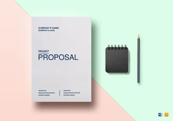 Project Proposal Template - 18+ Free Word, PDF, PSD Documents - project proposal template word