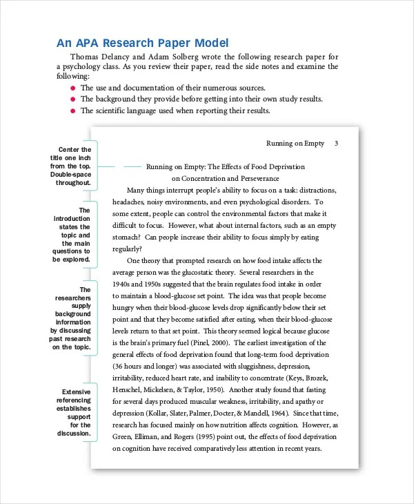 sample of research essay the 25 best apa format sample ideas example