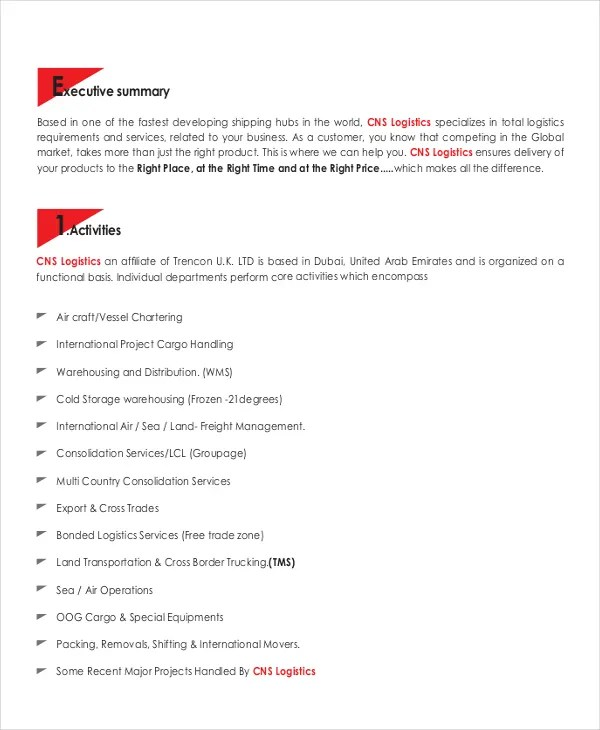 9+ Company Description Examples - PDF Free  Premium Templates