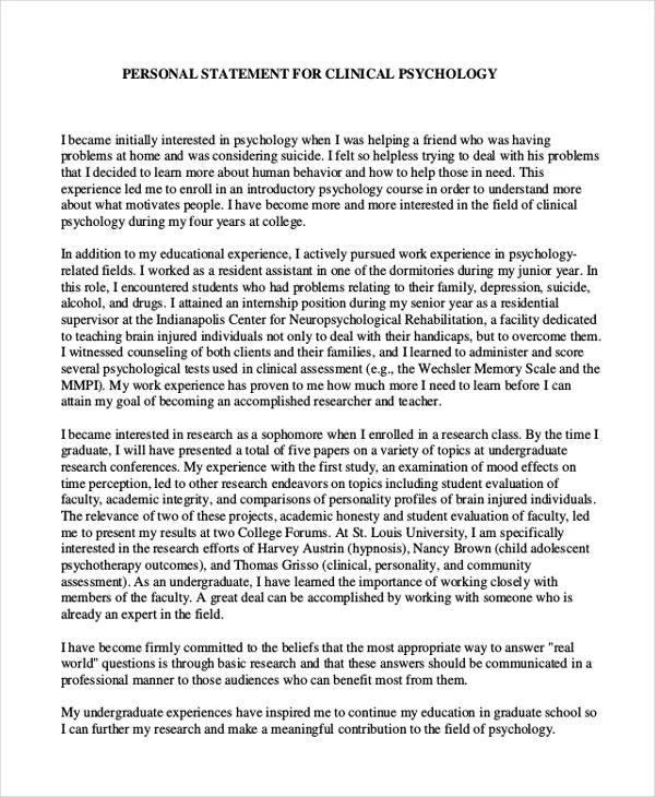 personal statement for nursing school