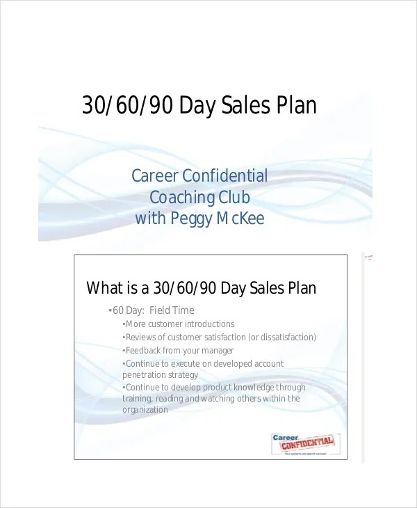 30 60 90 day sales plan template  Apps for dropbox - sales plan templates