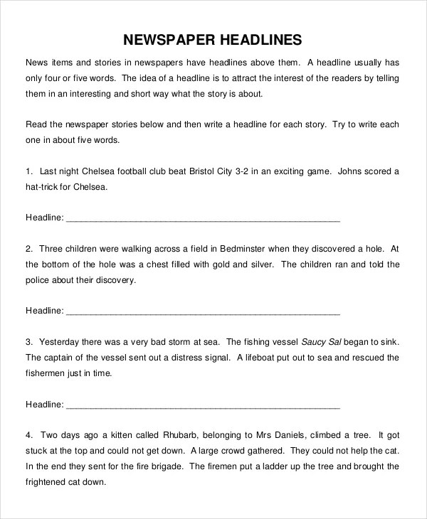 News Story Template Images - Template Design Ideas