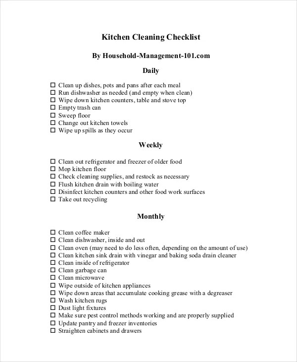 Moving Checklist Template Uk | Free General Cover Letter Template