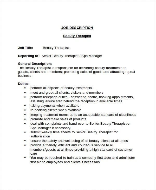 Job Description For Administrative Assistant Intern | Business