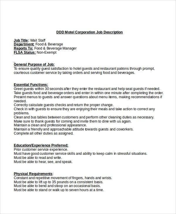 microsoft job description templates - Intoanysearch - job description templates