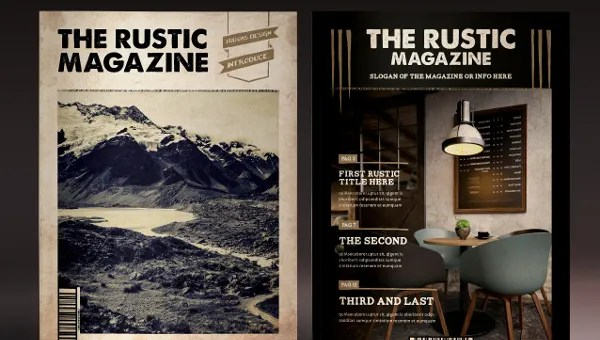 50+ Magazine Covers Designs - Free PSD, AI, Vector EPS Format