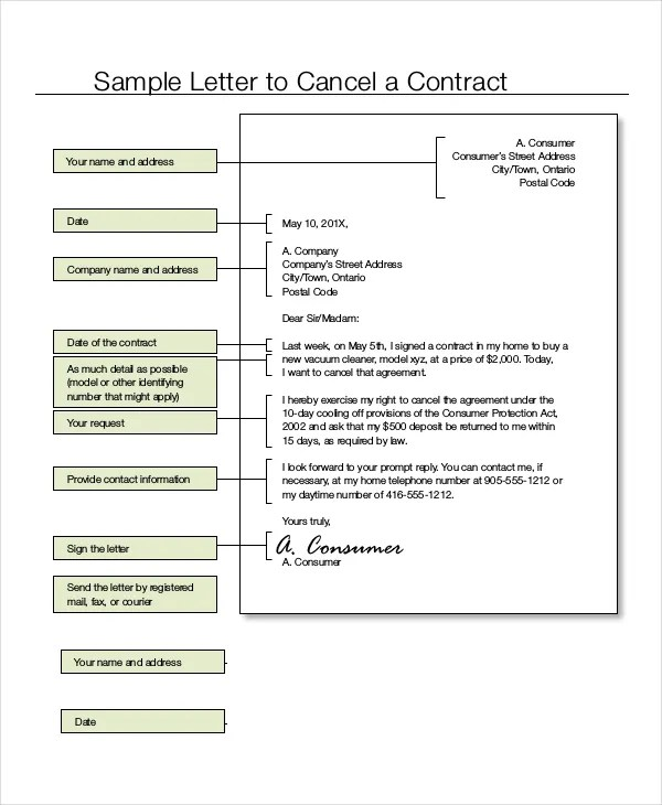 why did i get a car insurance cancellation letter. steps to write ...