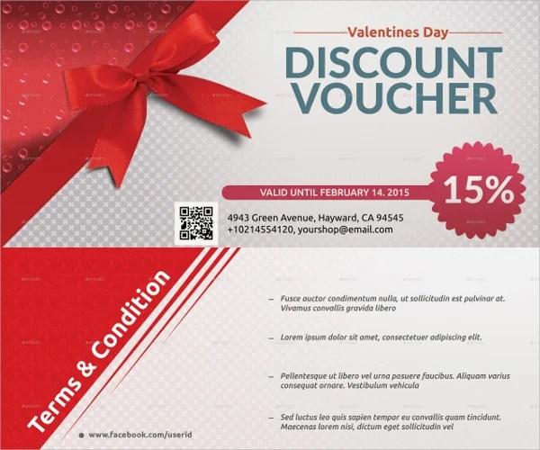 discount voucher template - Maggilocustdesign
