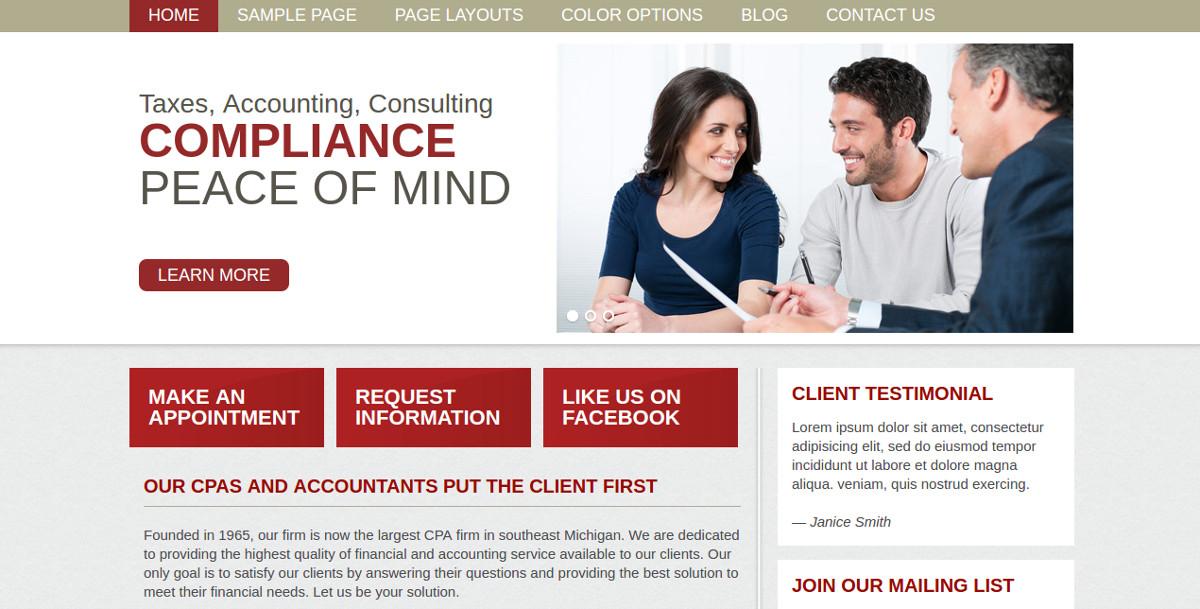 28 amazing accountant website themes templates free premium