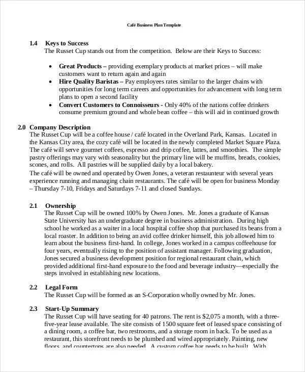 business plan template for travel agency