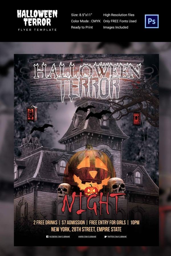 68+ Halloween Templates - Editable PSD, AI, EPS Format Download