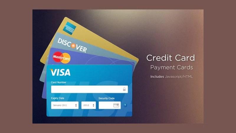 19+ Credit Card Designs Free  Premium Templates - printable credit card template