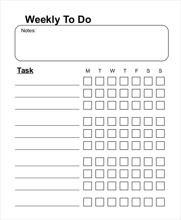 To Do List - 13+ Free Word, Excel, PDF Documents Download Free