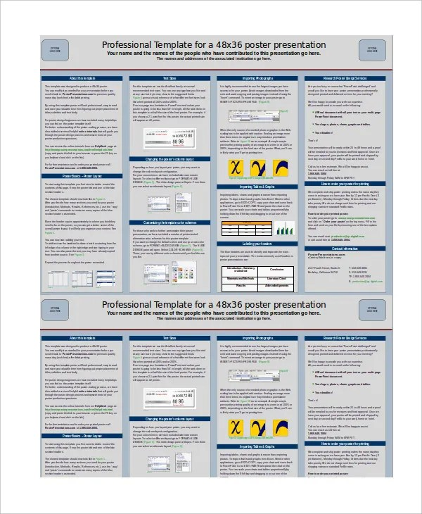 Poster Presentation - 7+ Free PPT Documents Download Free