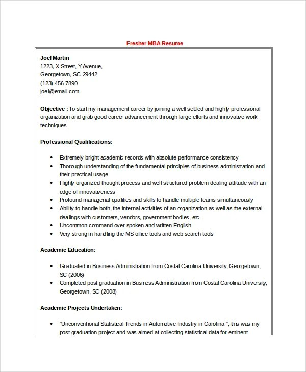 How to Pay for College A Library How-To Handbook free resume format - Mba Application Resume Format