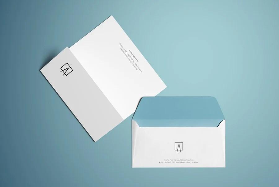 20+ Beautiful Envelope Designs Free  Premium Templates - letterhead and envelope design