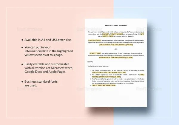 House Lease Agreement - 16+ Free Download Documents in PDF, Word