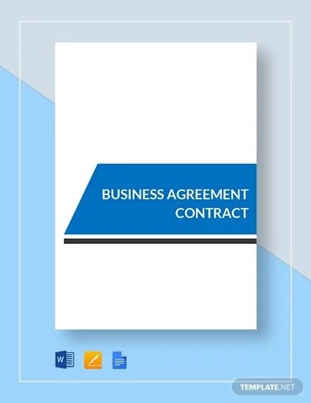 13+ Business Agreement Templates - Word, PDF Free  Premium Templates