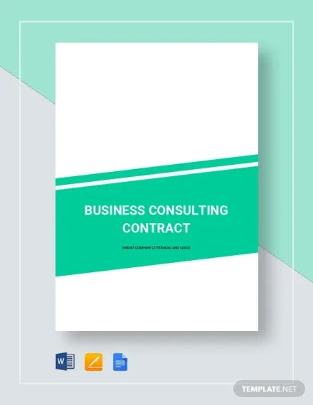 15+ Consulting Contract Templates - Docs, Pages Free  Premium