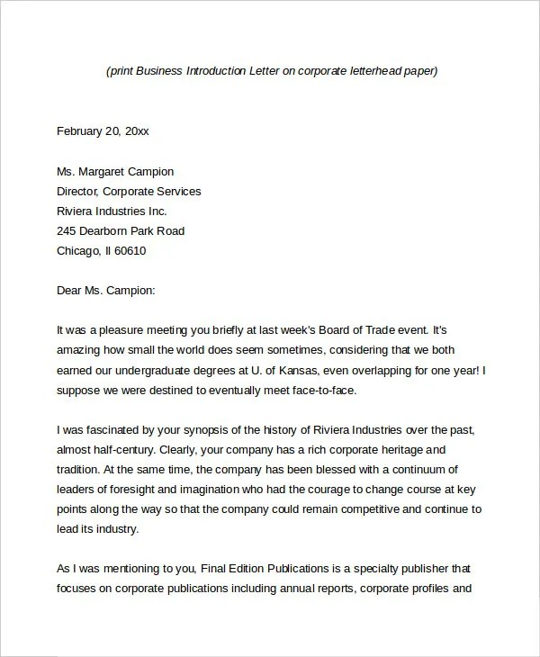 Business Letter - 13+ Free Word, PDF Documents Download Free - business synopsis template