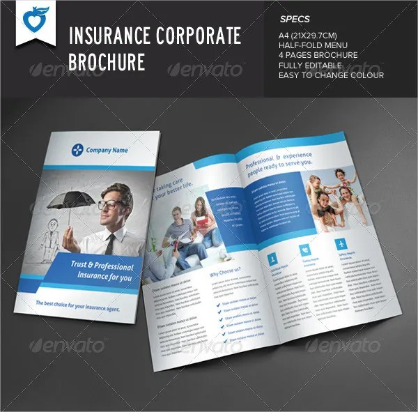 Insurance Brochure - 17+ Free Free PSD, Vector EPS, PNG Format - insurance flyer templates