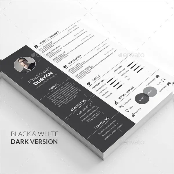 18+ Infographic Resumes - Free PSD, Vector AI, EPS Format Download - infographic resumes
