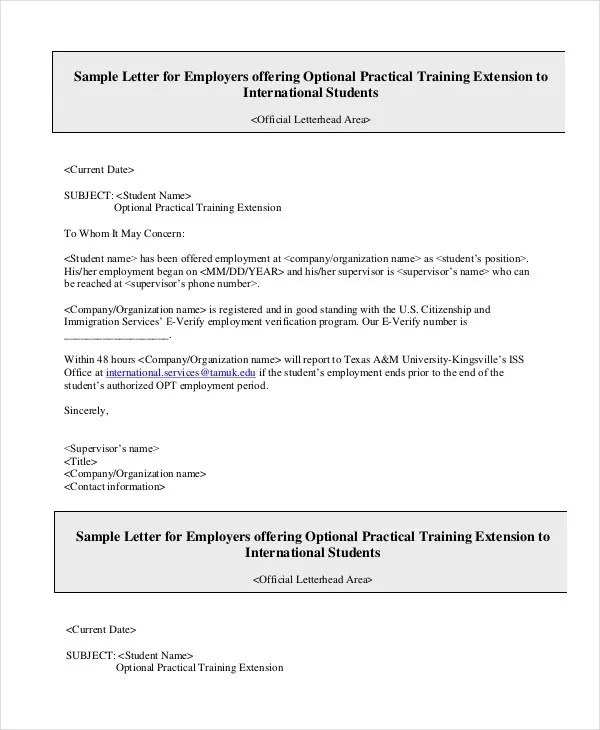 Employment Verification Letter - 8+ Free PDF Documents Download