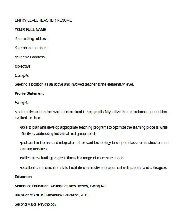 free resume builder no charge resume builder teacher resume 9 free sample example format free and - Free Resume Builder No Charge