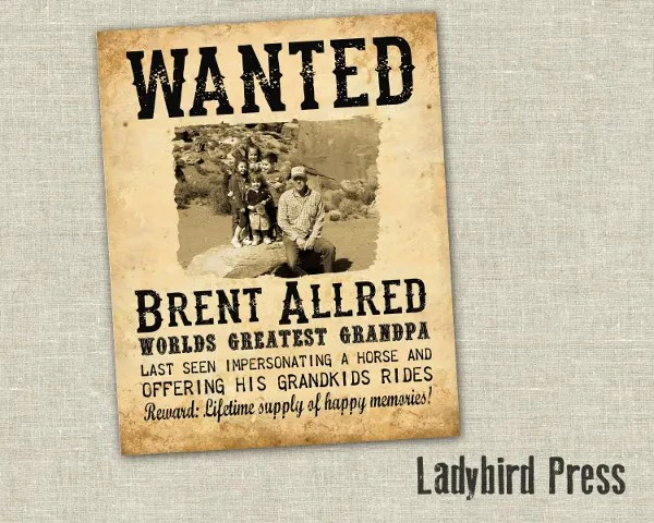 Most Wanted Poster Template - Costumepartyrun