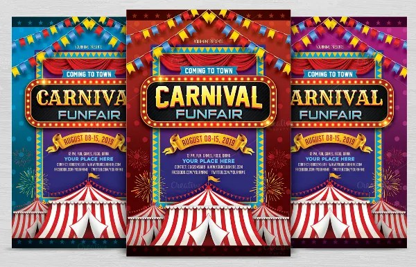 23+ Carnival Invitations - Free PSD, Vector EPS, AI, Format Download - flyer invitation templates free