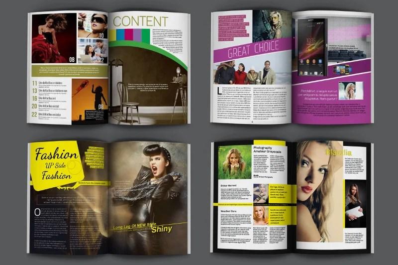 23+ Modern Magazine Designs  Mockups to Print Free  Premium