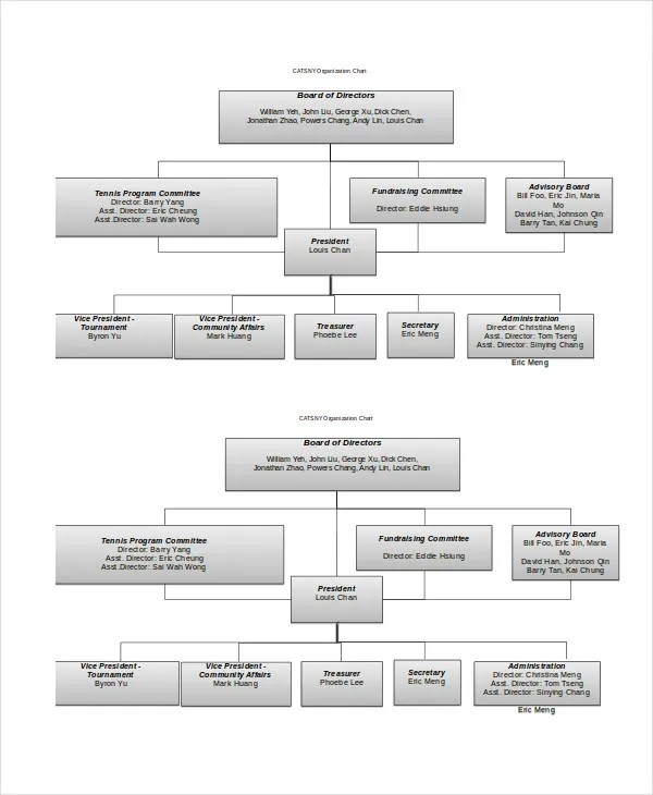 Organizational Chart - 9+ Free Word, PDF Documents Download Free