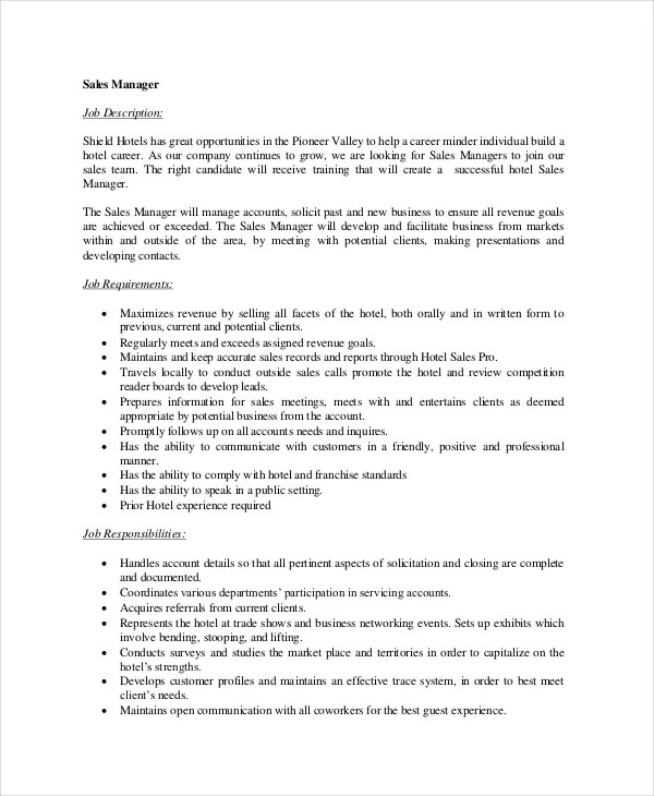 Job Description Job Opening Specimen Collector In Mn Job - assistant manager job description