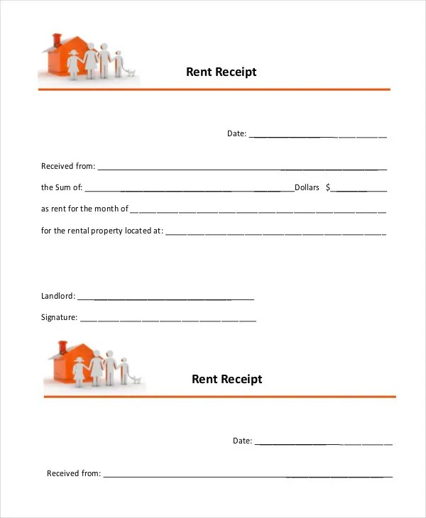 Rent Receipt - 26+ Free Word, PDF Documents Download Free