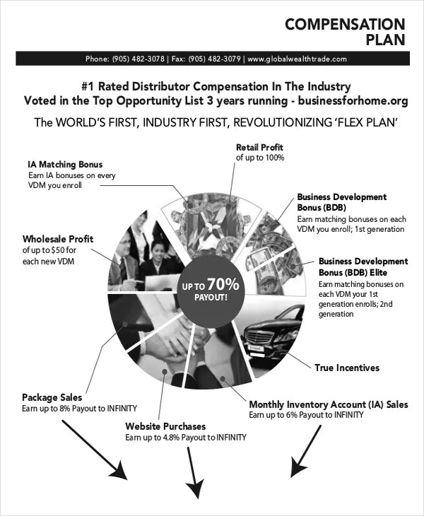 Plan Template -18+ Free Word, PDF, PSD, InDesign Format Download - compensation plan template
