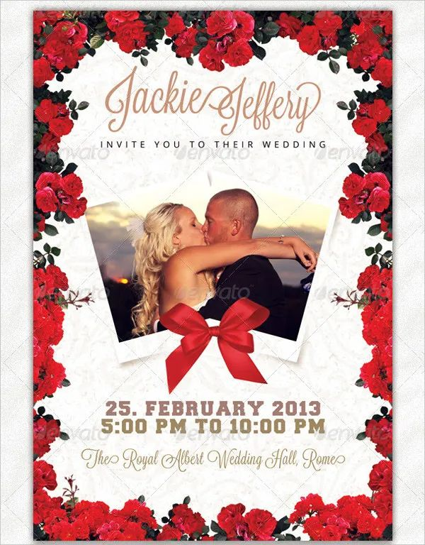 wedding invitations formats