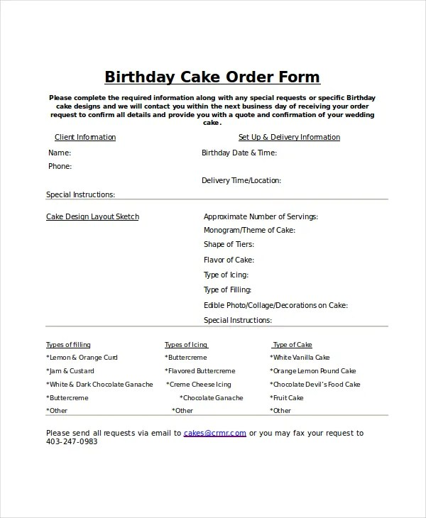 Order Form Template - 12+ Free Word, PDF Documents Download Free - order form layout