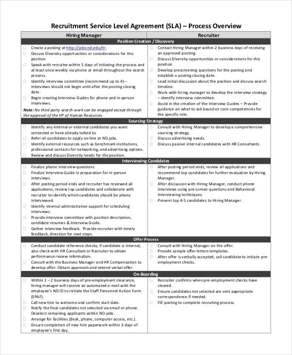 Service Agreement Template Word – Free Service Agreement Template