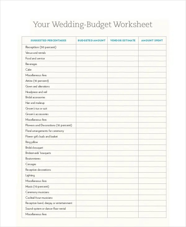 Free Budget Template - 10+ Free PDF, Word, Excel Download Documents