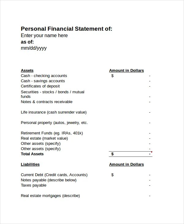 Income Statement - Free PDF, Excel, Word Documents Download Free
