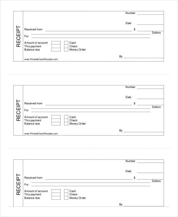 Cash Receipt Template - 8+ Free Word, PDF Documents Download - blank receipt template microsoft word