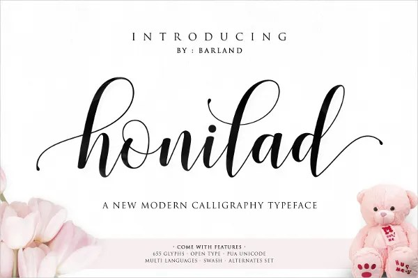 18+ Calligraphy Fonts - Free OTF, TTF Format Download Free