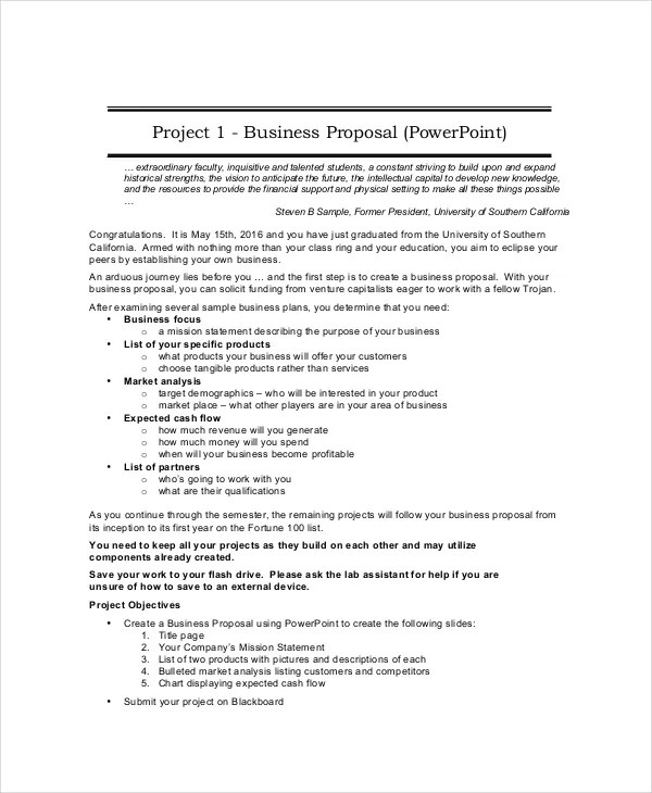 Business Proposal - 19+ Free PDF, Word, PSD Documents Download - business propsal template