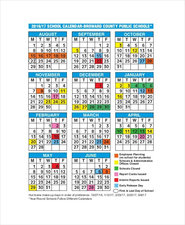 Academic Calendar Template cvfreepro - sample academic calendar