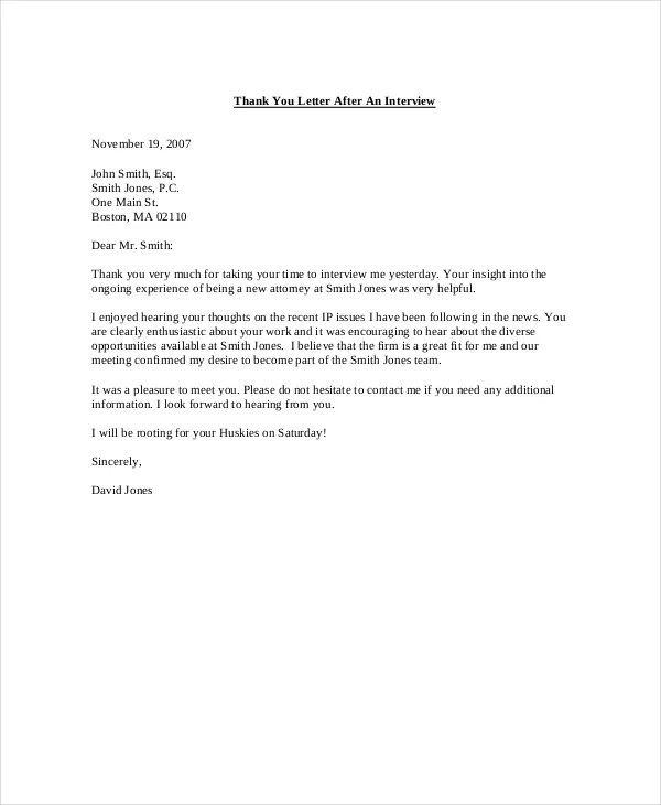 letter for informational interview - Amitdhull - thank you letter after interviews