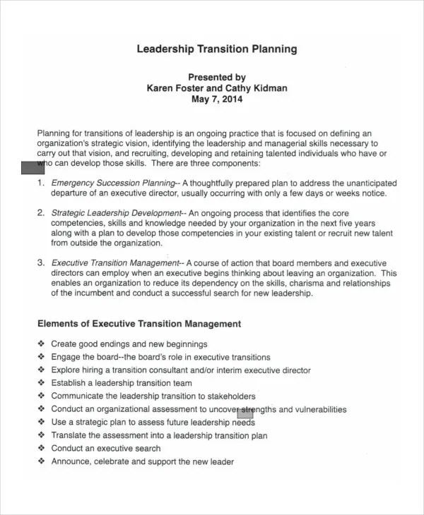 transition plan template hitecauto - transition plan template