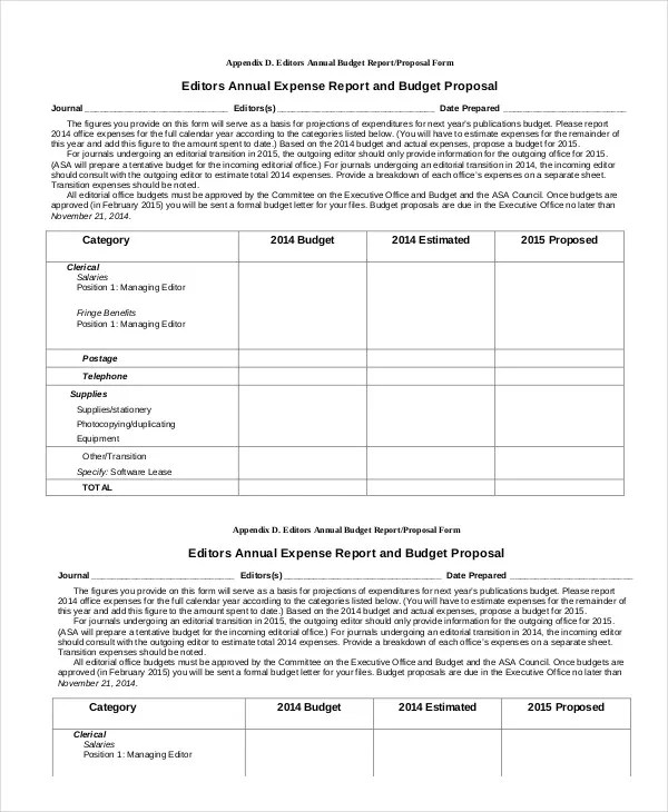 Expense Report Template - 11+ Free Sample, Example, Format Free - basic expense report template